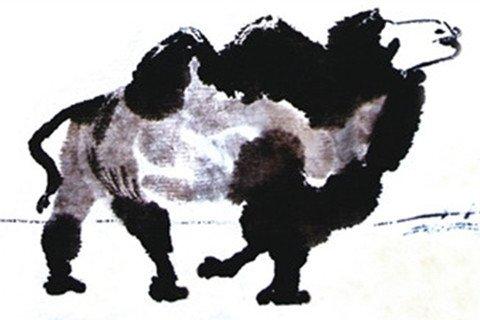 国画骆驼的绘画技法