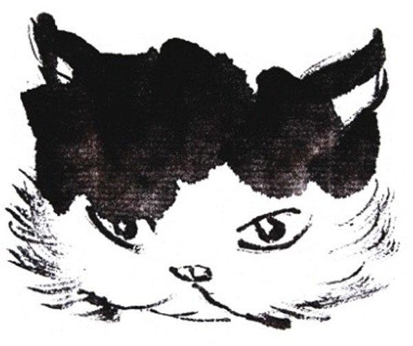 国画猫的绘画步骤三