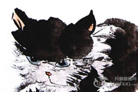 国画猫的绘画技法