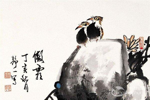鹿庆春国画花鸟作品欣赏