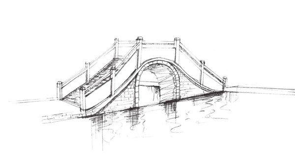 平行透视 结构素描