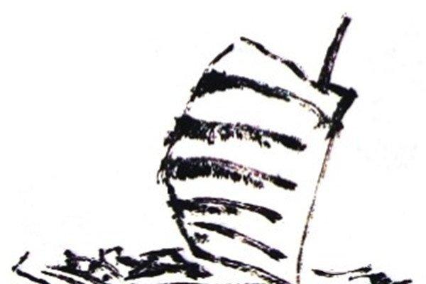 国画帆船的绘画技法