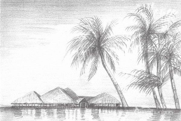 素描海边风景的绘画技法