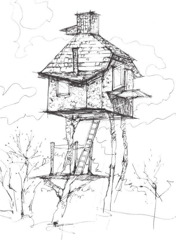 简笔画 手绘 素描 线稿 600_827 竖版 竖屏