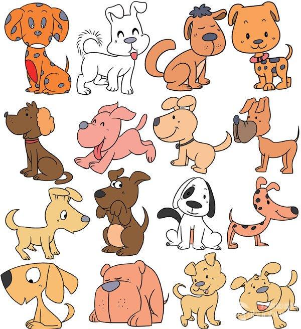 动物类简笔画_儿童画教程_学画画_我爱画画网