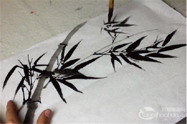 可可简笔画竹子