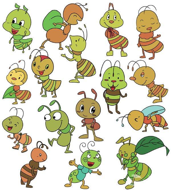 简笔画蚂蚁