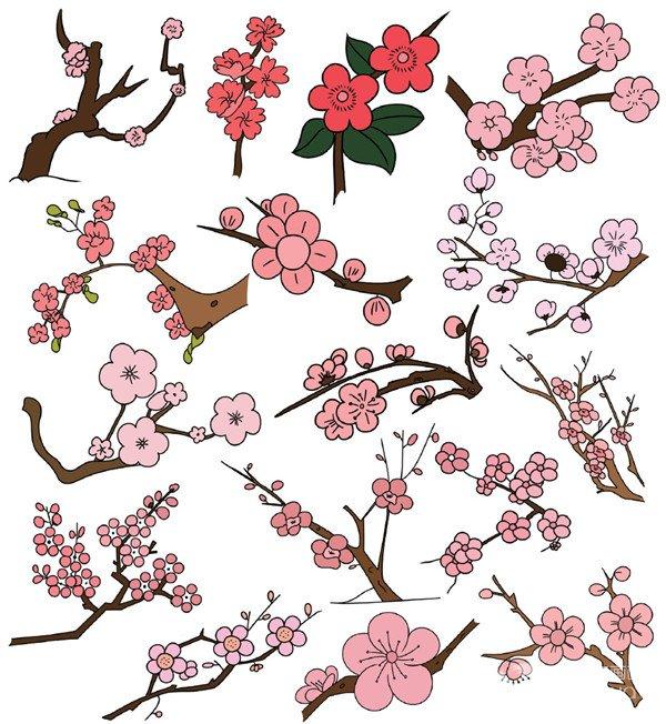 花卉类简笔画