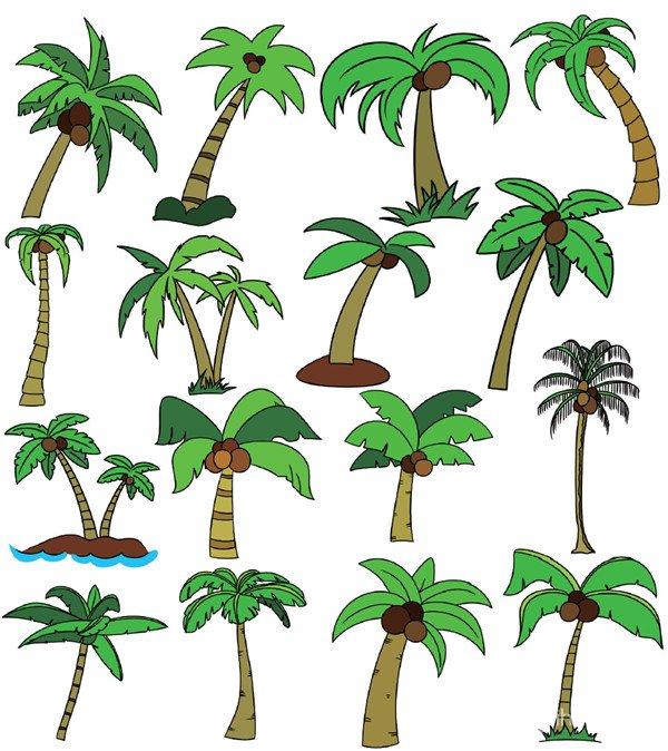 树木类简笔画