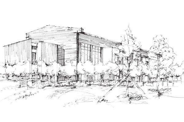 速写概念建筑的绘画技法