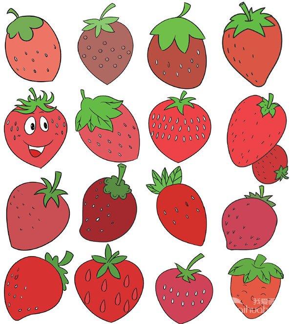 水果类简笔画