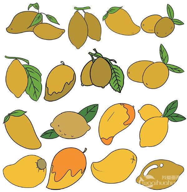水果类简笔画 4