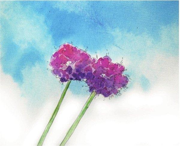 创意水彩画绘画技法