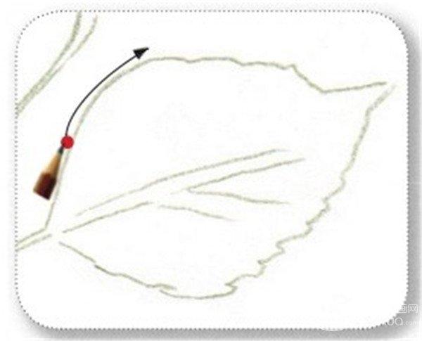 彩铅扶桑花的绘画教程(5)
