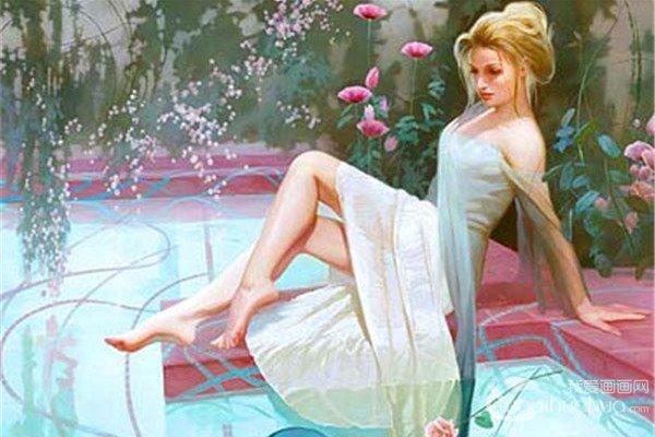 俄罗斯女装饰画画家瓦诺娃作品赏析