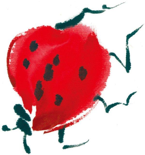 水墨七星瓢虫的绘画技法(3)
