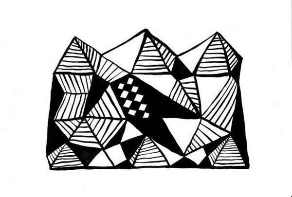 罗斯黑白装饰画赏析