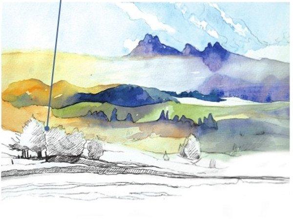 水彩画教程 水彩风景画