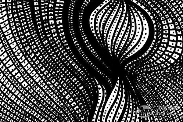 巴西独立艺术家吉列尔梅・克莱默黑白装饰画作品赏析