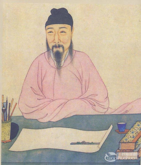 吴派唐寅人物画像