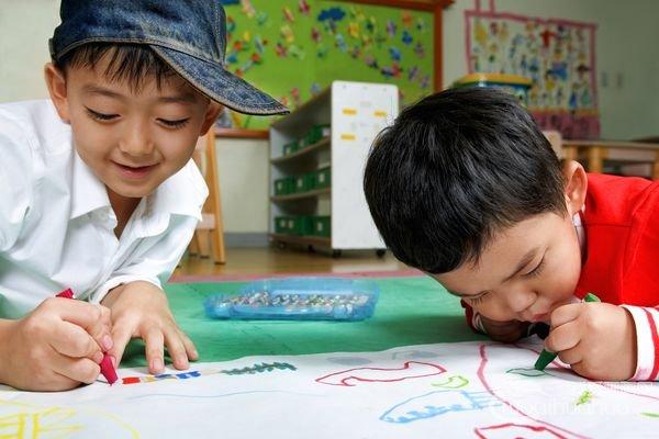 三到四岁宝宝画画能力