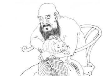 中国著名画家金农