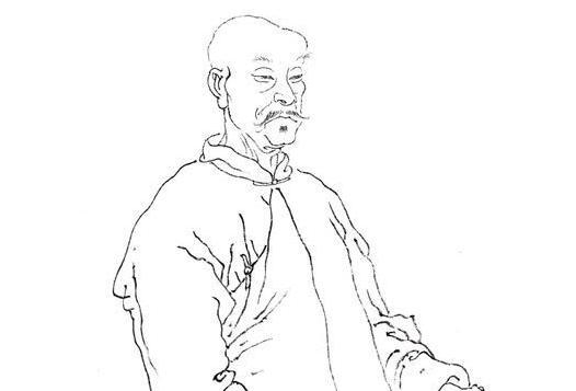 中国著名画家李�W