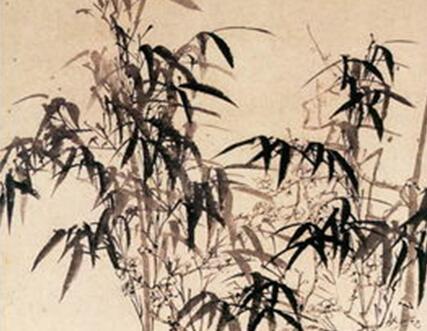 李�W花鸟画《梅兰竹图》作品欣赏