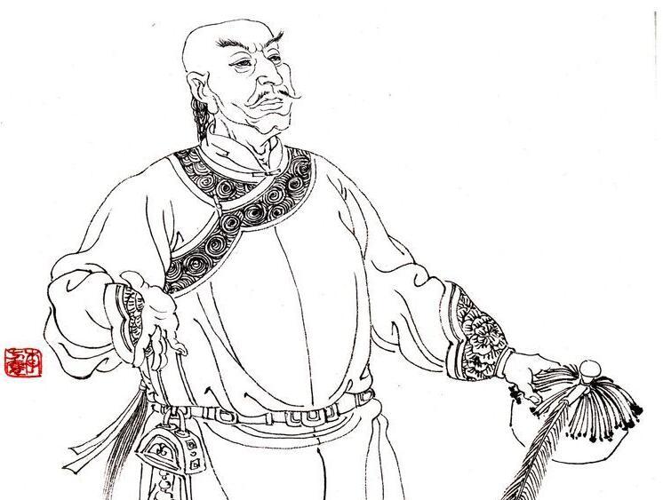 中国著名画家李方膺