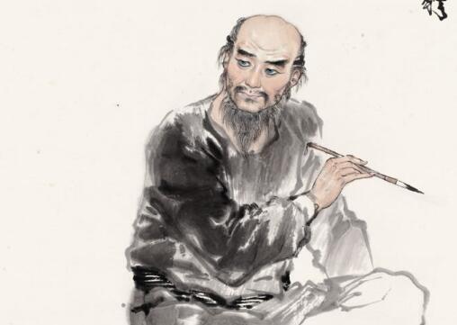 中国著名画家罗聘