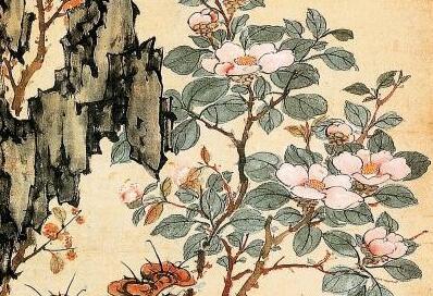 罗聘花鸟画《花卉图》作品欣赏