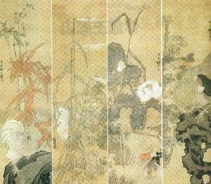 中国古代画派之海上画派绘画技巧教程