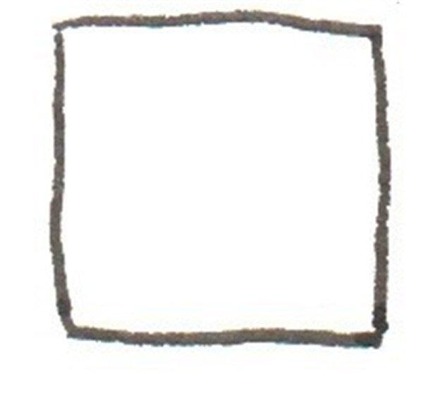 方形边框剪纸教程图解