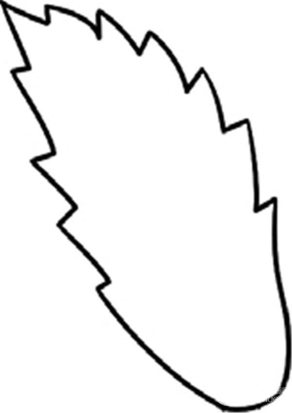 趣味简笔画:朝气蓬勃的麦穗绘画步骤一