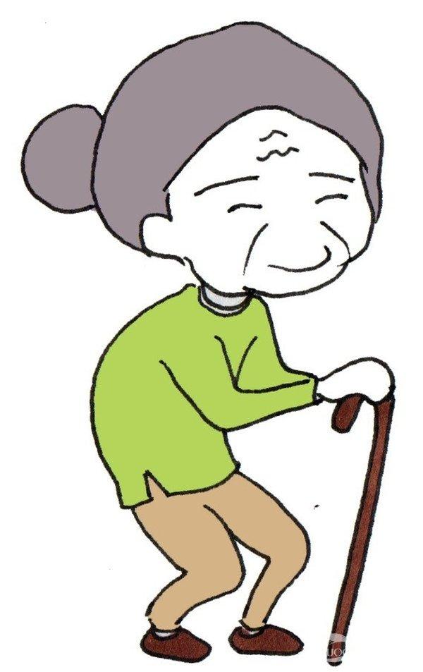 卡通人物手绘画我们这一家(10)