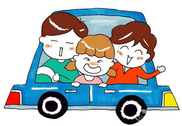 卡通人物画幸福一家人(5)_儿童画教程_学画画_我爱
