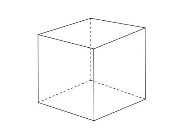 三点透视立方体