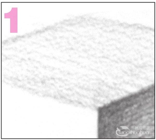 几何体素描之正方体绘画步骤七-1