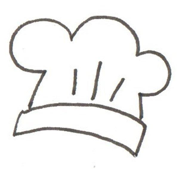 卡通人物画厨师的绘画步骤