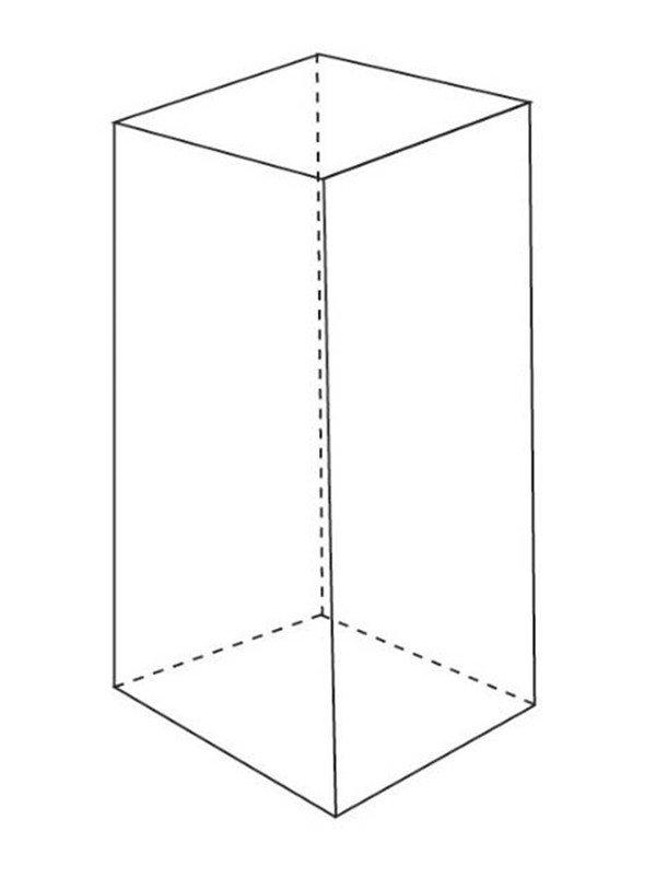 素描长方体的绘画步骤