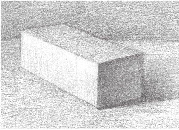 素描长方体的绘画步骤 5图片
