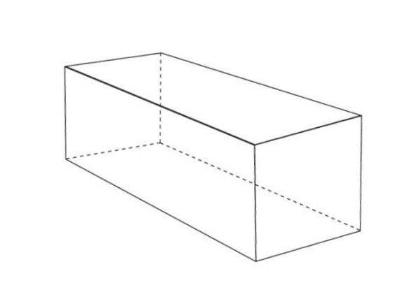 对于横向长方体,绘画时要注意把握形体的透视,依据透视近大远小的原理,长方体的前面要大于长方体的后面。把握形体的正确刻画。  素描长方体 【重点剖析】 1、打形要准确,注意透视原理,抓好基点,透视不准确画面可能会产生扭曲。  素描长方体要领一 2、分清黑白灰三大调子的各个块面,慢慢用排线一层一层地交叉铺上去。  素描长方体要领二