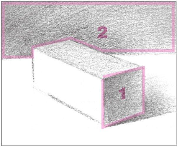 素描长方体的绘画步骤(7)