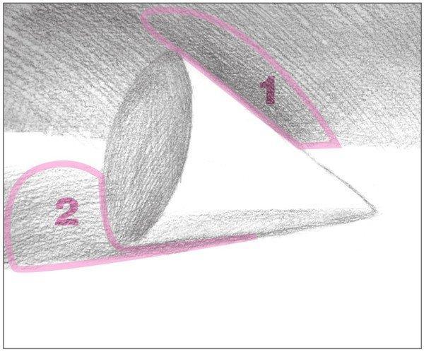 素描圆锥体的绘画步骤(7)