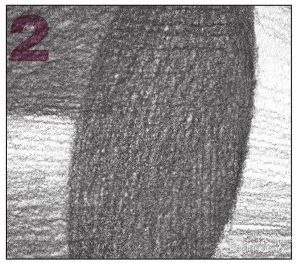 几何体素描之圆锥体绘画步骤十-2-素描圆锥体的绘画步骤 8