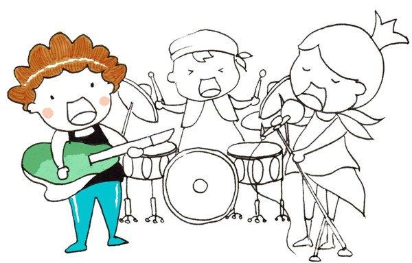 动漫 简笔画 卡通 漫画 手绘 头像 线稿 600_384