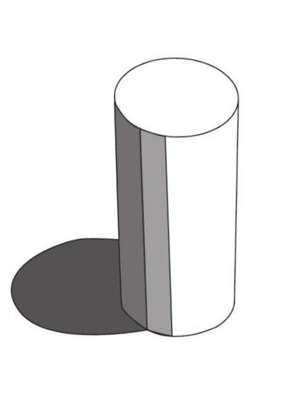 根据圆柱体的结构,准确把握圆柱体的长宽比例和透视