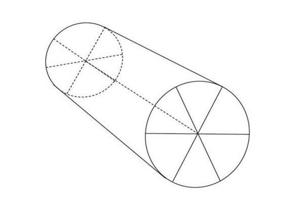 黑白比例设计图