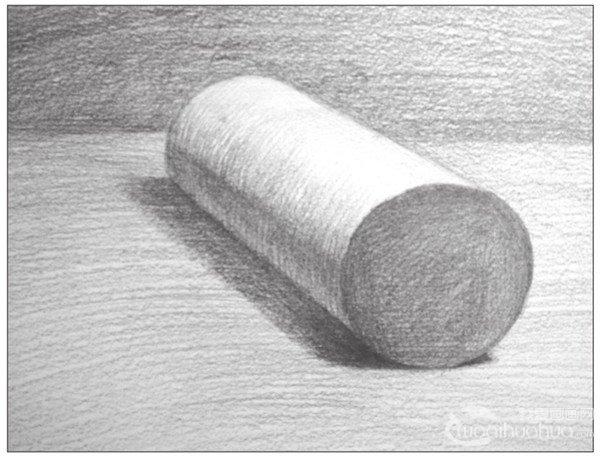 素描圆柱体的绘画步骤 8图片