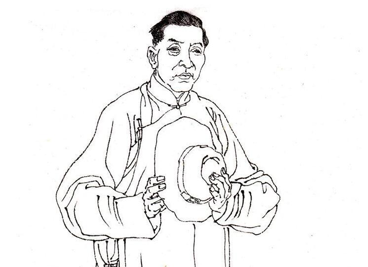 中国著名画家高奇峰